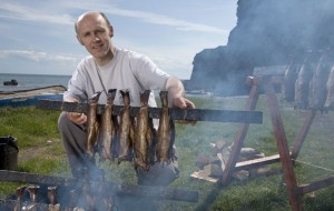 Arbroath Smokies being made by Iain R Spink.