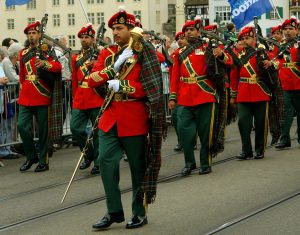 Royal Army of Oman Pipe Band via Creative Commons